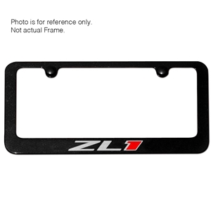 ZL1 Camaro License Frame - Black
