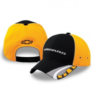Camaro Own The Road Cap - Black- Yellow