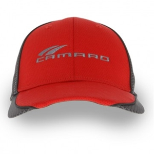 Carbon Fiber Contrast Cap - Red/Carbon