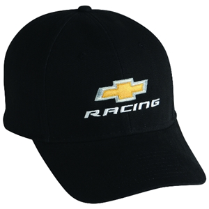 Chevy Racing Bowtie Cap-Black