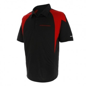 Camaro Reebok Signature Polo - Black/Red