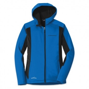 Camaro Eddie Bauer® Ladies Colorblock Jacket - Blue/Black