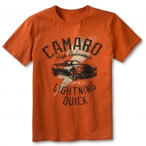 Camaro ZL1 Lightning Quick Tee - Orange