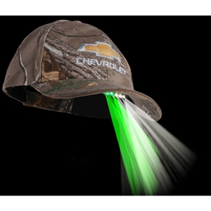 Chevrolet Bowtie Night Vision LED Cap