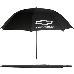 Chevrolet Bowtie Valet Umbrella - Black