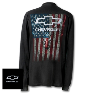 Chevy Skull & Stripes Full Sleeve