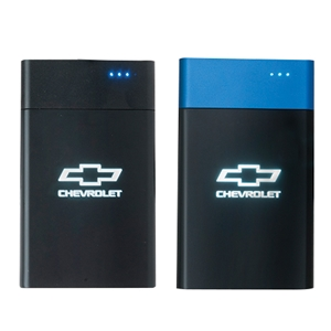Chevy Bowtie Light Up Power Bank