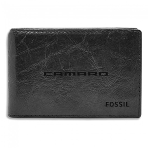 Camaro-Fossil RFID-Secure Money Clip - Black