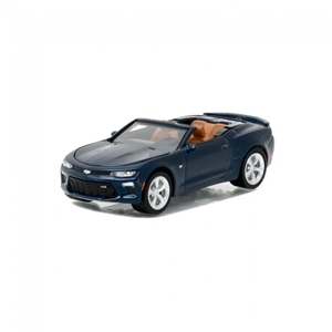 Camaro Gen.6  Convertible 1:64 Scale - Blue