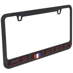 Camaro Red Line License Plate Frame: 2016-Present