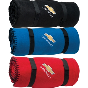 Chevrolet Fleece Blanket With Bowtie