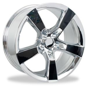 2010-2013 Camaro 5 Spoke Wheel Package Reproduction - Chrome