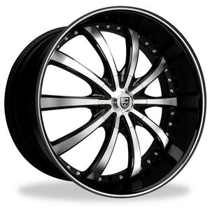 2010 Camaro Aluminum Wheel Black w/Machined Face