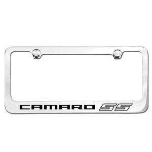 Camaro SS License Frame : Chrome Plated