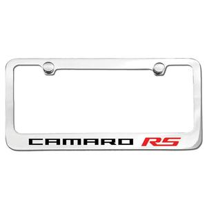 Camaro RS License Frame : Chrome Plated