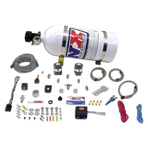 2010-2016 Camaro Nitrous Oxide - NX Universal Fly by Wire Single Nozzle 35-150HP System w/ 10LB. Bottle and TPS Switch