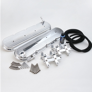 2010-2015 Camaro Custom Billet Aluminum Valve Covers LS3