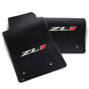 2012-2015 Camaro Floor Mats 2 Pc. Set - ZL1 Logo