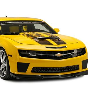 2010-2013 Camaro Gradient Flame Hood & Trunk Rally Stripe 4pc.