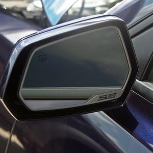 2010-2015 Camaro - Side View Mirror Trim SS Lettering